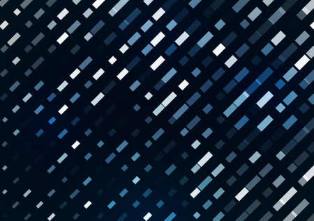 Abstract lines from intersecting rectangles on a blue background. A bright element for corporate design. Vector illustration. Illusztráció