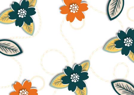 Painted flower arrangement in pastel colors. Design element. Postcard. Valentine's Day, Mother's Day, Wedding, Birthday. Vector illustration