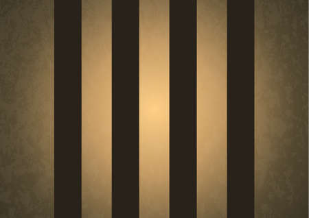 Golden stripes on a dark background with texture. Striped vertical pattern for printing on fabric, paper, wrapping, scrapbooking, websites. Vector illustration