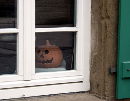 Halloweenfenster  Stock Photo