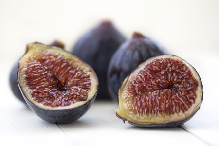 figs on white ground