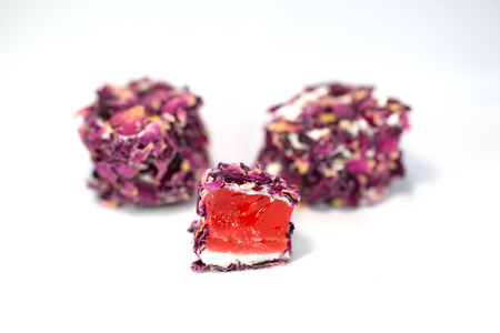 Turkish Delight with Rose Petals, Turkish Delight