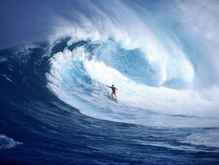 mer surf vague sport