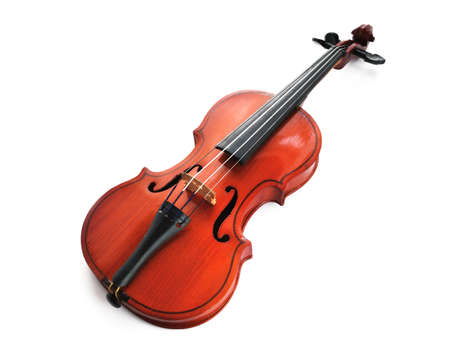 violins: violin isolated Stock Photo