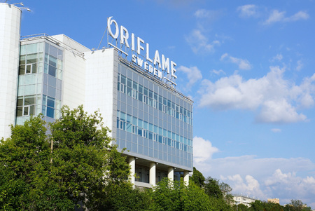 The office of the Swedish company Oriflame in Moscow. Str. Usachev, 37