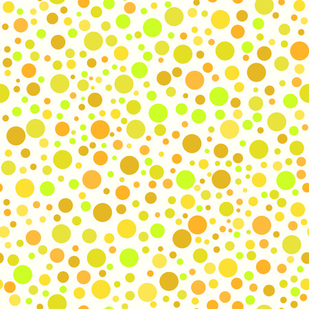 Seamless pattern with abstract polka dot texture Vector
