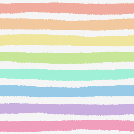 Seamless pattern with hand painted brush strokes, striped background  Vector illustration  Vector