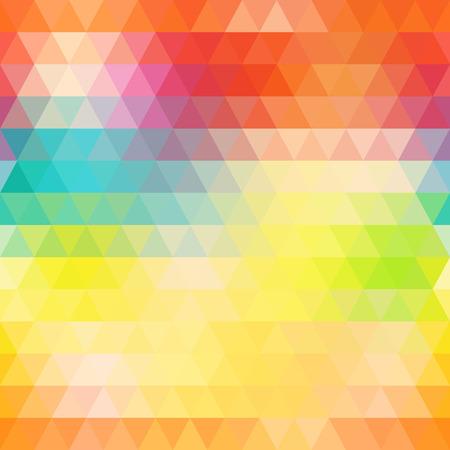 抽象的な幾何学的三角形のシームレスなパターン  イラスト・ベクター素材