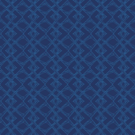 Seamless pattern with abstract squares geometric ornament