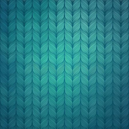 knitted background: Dibujado a mano de fondo de punto Vectores