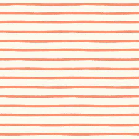 stripes: Seamless striped pattern with hand painted brush strokes Illustration