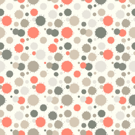 patch of light: Seamless pattern with painted splash texture