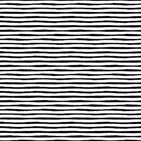 Hand painted brush strokes seamless pattern, striped background Vectores