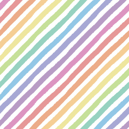 Retro seamless pattern with diagonal painted stripes