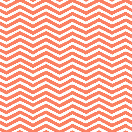 Geometric chevron seamless pattern  Hand drawn texture Vector