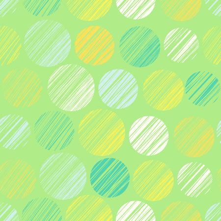 Patrón sin fisuras con elementos del círculo Foto de archivo - 30954511