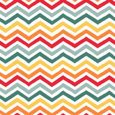 Geometric chevron seamless pattern Vector