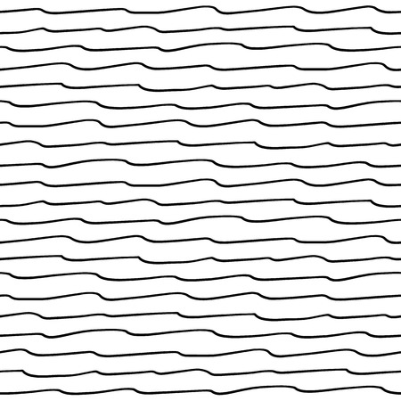 Seamless pattern with waves texture Vectores