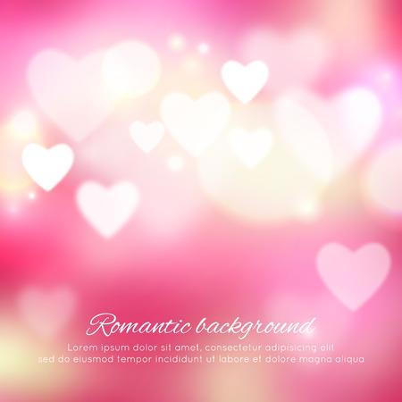 バレンタインの日ロマンチックな背景