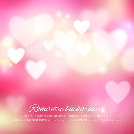romance: Valentines day romantic background