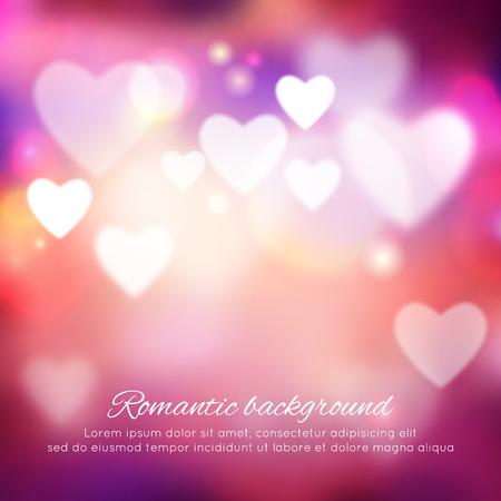 Valentine\'s day romantic background