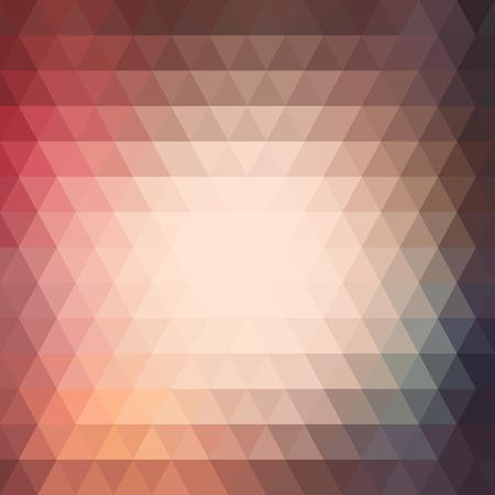 cuadros abstractos: Tri�ngulo colorido fondo abstracto
