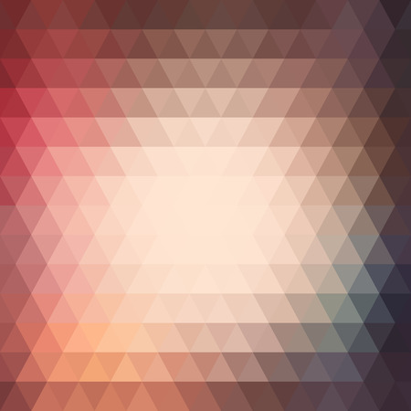 abstract painting: Triangle colorful abstract background