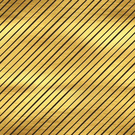 golden texture: Seamless pattern with stripes, golden texture Vettoriali