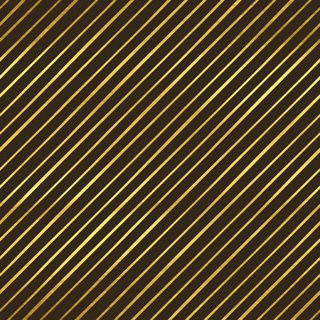 golden texture: Seamless pattern con strisce, tessuto d'oro Vettoriali