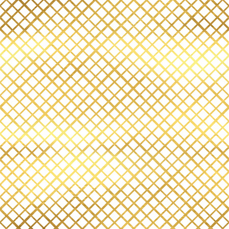 golden texture: Seamless pattern with cross stripes, golden texture