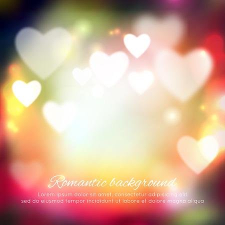 Valentijnsdag romantische achtergrond