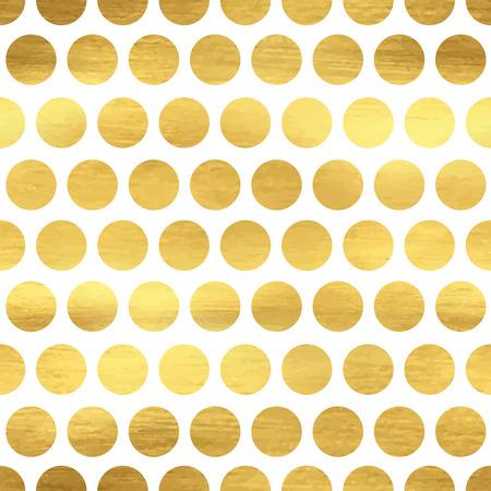 抽象的な水玉模様のシームレス パターン  イラスト・ベクター素材