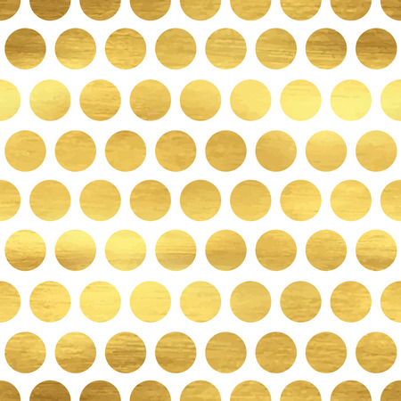 Seamless pattern with abstract polka dots