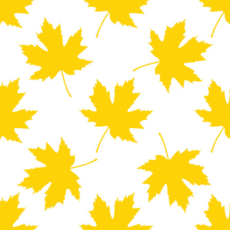 Seamless pattern with leaves. Background for your design. Vector illustration.