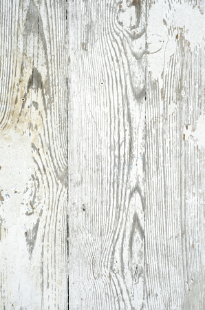 Texture background of wooden planks covered with old peeling paint Stock Photo