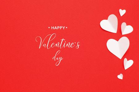 Happy Valentine`s Day. Valentine`s Day greeting card.