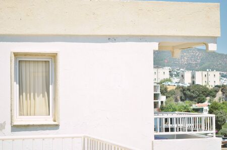 View of a traditional Bodrum house. - Image