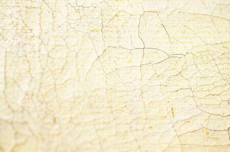 Closeup old cracked Oil on canvas texture. Soft focus. - Image Stok Fotoğraf