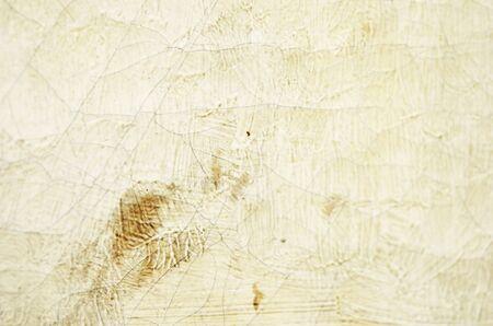Gros plan vieux fissuré huile sur toile texture. Mise au point douce. - Image