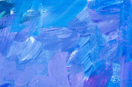 Brushstrokes of paint. Modern art. Abstract art background. - Image