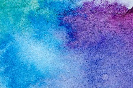 Watercolor painted background.Abstract Illustration wallpaper. - Image