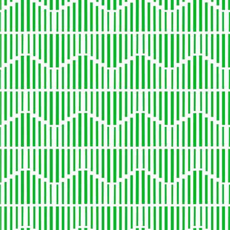 crossover: Geometric abstract seamless pattern with green line. Can be used  for wallpaper, web page background, wrapping paper, print on fabric.
