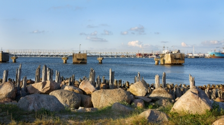 breakwaters: Breakwaters on the Baltic Sea