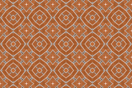 rick: Red rick wall kaleidoscopic pattern ,computer generated