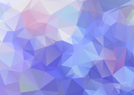 creativity: Abstract polygonal background,colored triangular mosaic