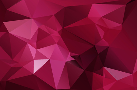 rumpled: abstract rumpled triangular background,  low poly style illustration Stock Photo