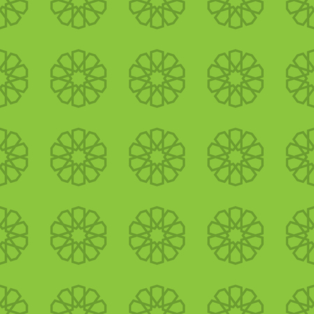Background With Seamless Islamic Pattern. Background Vector Illustration Illustration