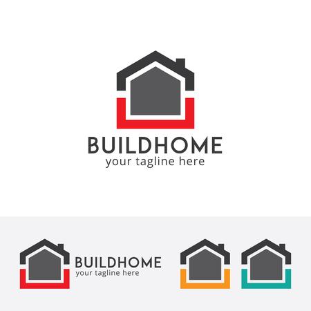 Real estate logo, house logo, home logo vector illustration Illustration