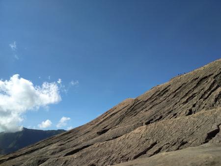 Rocks in the crater of Mount Bromo, Mount Bromo in Bromo Tengger Semeru National Park, East Java, Indonesia
