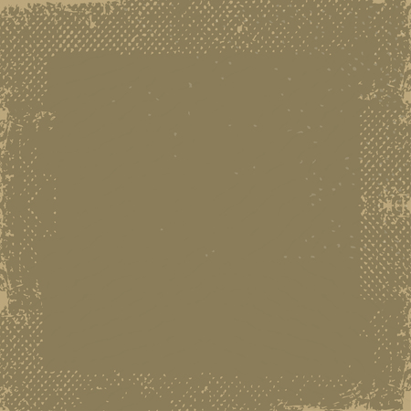 Abstract vector grunge background. Vector of grunge background with space for text. Dark brown grunge vintage old paper background